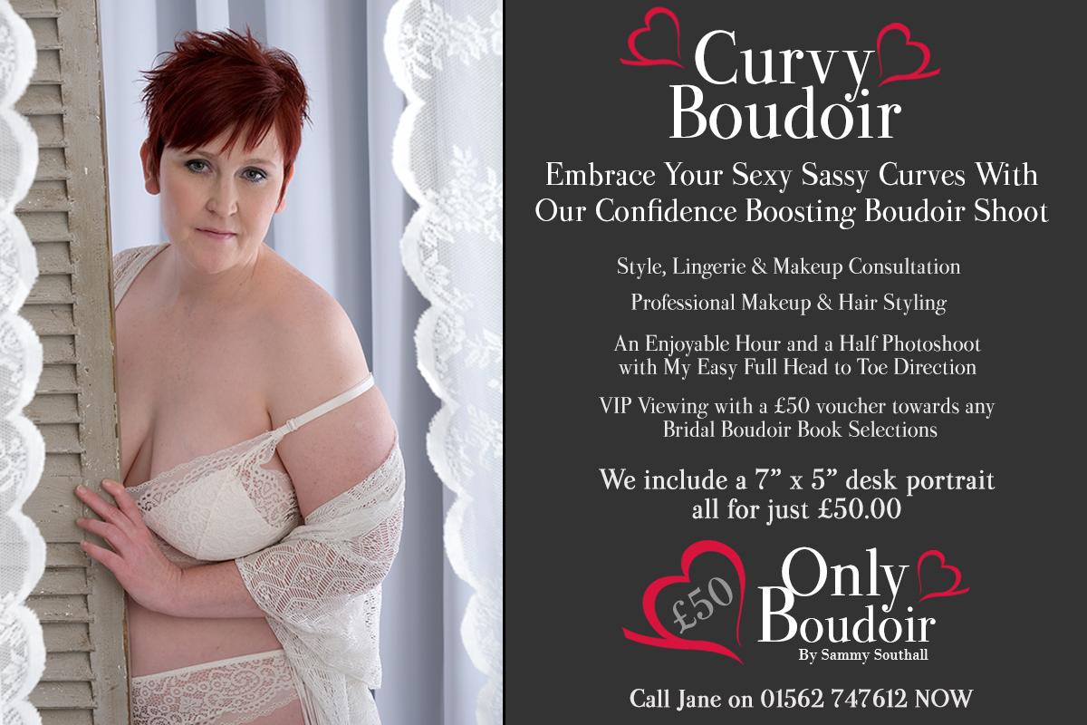Curvy Plus size Boudoir Photography Styles UK