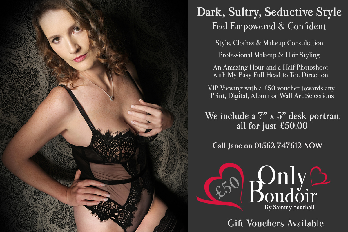 Dark and Sultry Boudoir Photography Styles UK